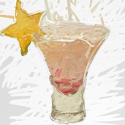 Star Fruit Sangria Art Print