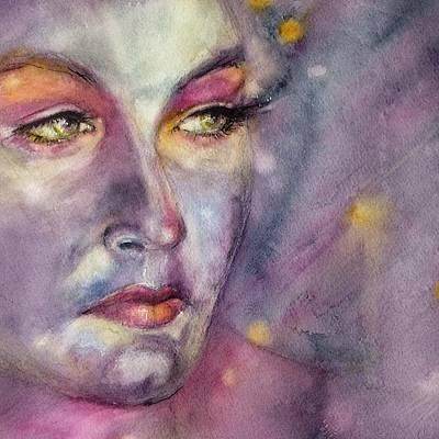 Painting - Star Gazer by Judith Levins