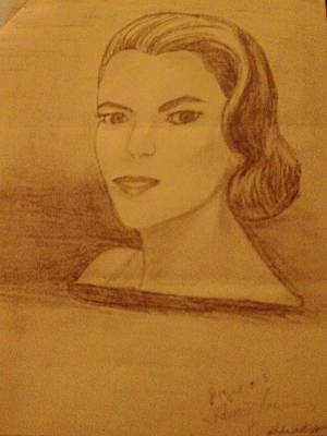Drawing - Star by Helen Vanterpool