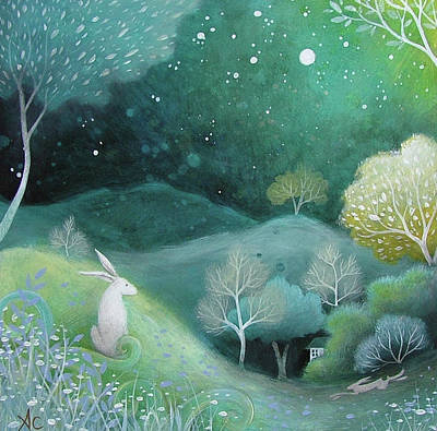 Amanda Clark Painting - Star Light by Amanda Clark