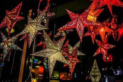 Photograph - Star Lights by Lora Lee Chapman