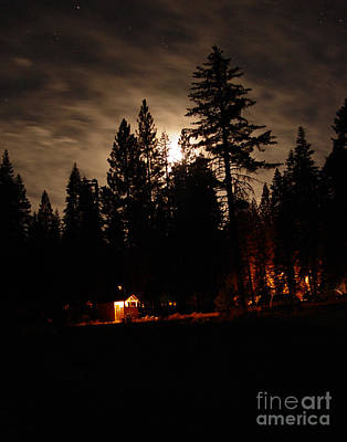 Photograph - Star Lit Camp by Peter Piatt