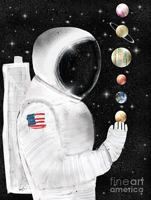 Painting - Star Man by Bri B