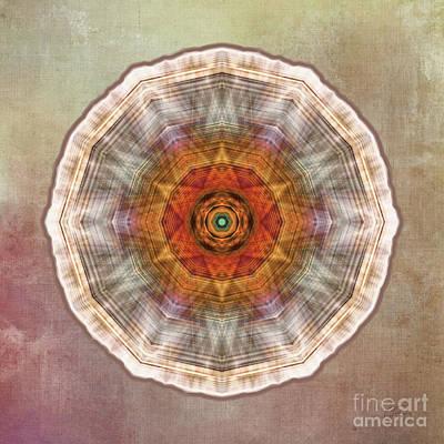 Photograph - Star Mandala 2 by Gabriele Pomykaj