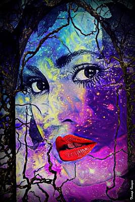 Digital Art - Star Mother by Wesley Nesbitt