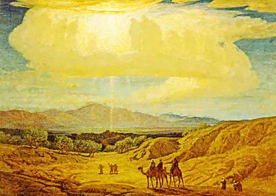 Photograph - Star Of Bethlehem 1880 by Munir Alawi