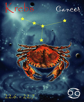 Painting - Star Of Cancer by Johannes Margreiter