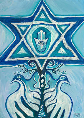 Painting - Star Of David by Yom Tov Blumenthal