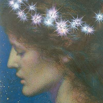 Painting - Star Of Heaven by Edward Robert Hughes