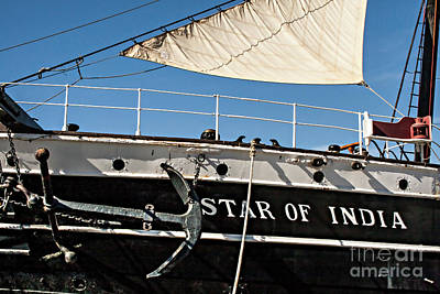 Photograph - Star Of India Windjammer by Gabriele Pomykaj