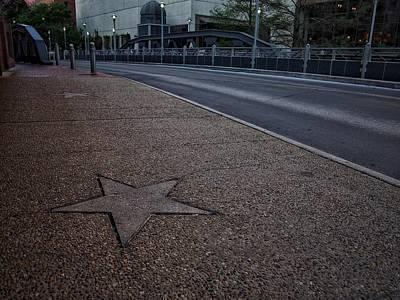 Historic Architecture Photograph - Star Of Texas  by Buck Buchanan