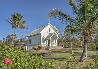 Photograph - Star Of The Sea Church by Susan Rissi Tregoning
