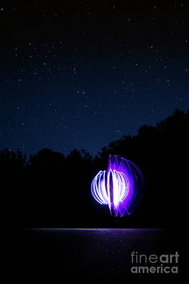 Photograph - Star Orb by Brian Jones
