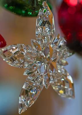 Photograph - Star Ornament by Liza Eckardt