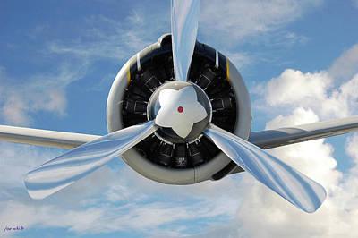 Digital Art - Star Plane by Joe White