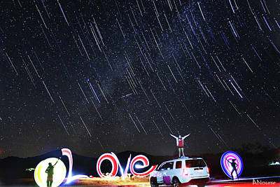 Photograph - Star Showers by Andrew Nourse