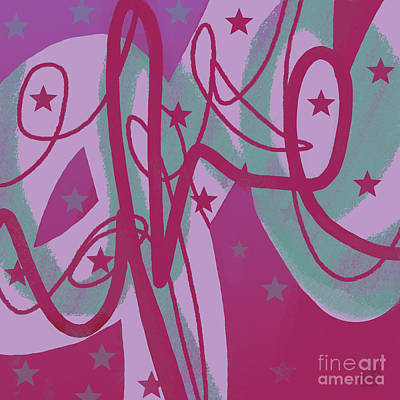 Digital Art - Star Signs by Carol Jacobs