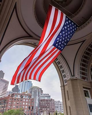 Photograph - 'star Spangle Banner' by Jim Bosch