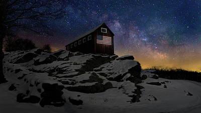 Star Spangled Banner Print by Bill Wakeley