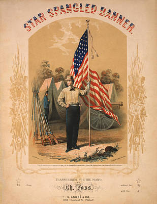 Star Spangled Banner Art Print by Bill Cannon