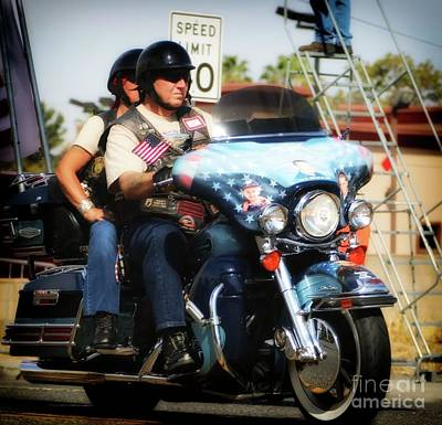 Photograph - Star Spangled Ride by Gus McCrea