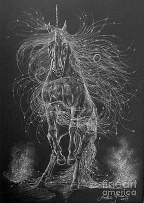 Drawing - Star Spirit by Louise Green
