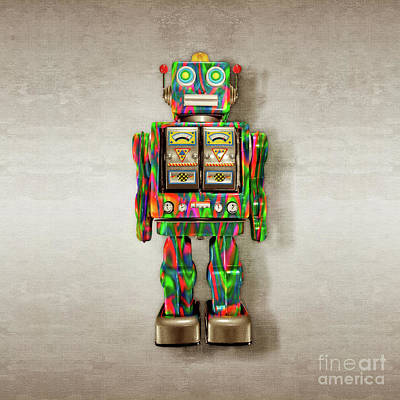 Photograph - Star Strider Robot Psyc by YoPedro