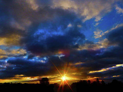 Photograph - Star Sunset by Mark Blauhoefer