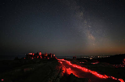 Photograph - Star Talk On Cadillac Mountain by John Meader