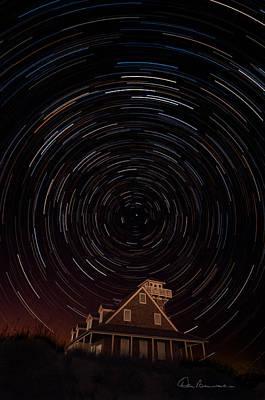 Photograph - Star Trails 1634 by Dan Beauvais