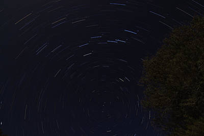 Photograph - Star Trails 4 by Scott Harris
