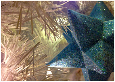 Photograph - Star Tree Ornament by Stan  Magnan