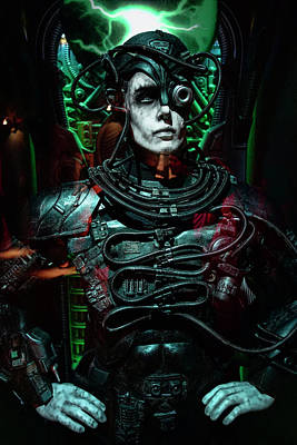 Startrek Photograph - Star Trek Borg by Daniel Hagerman