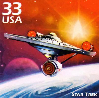 Star Trek Art Print