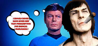 Star Trek Parody Art Print