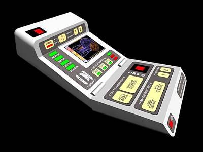 Digital Art - Star Trek by Super Lovely