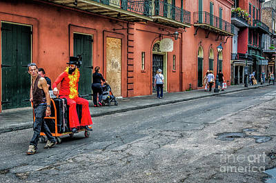 Photograph - Star Tripping To Jackson Square-nola by Kathleen K Parker