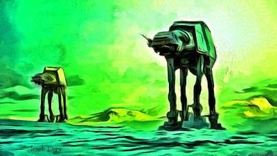 Revolt Digital Art - Star Wars Armour - Da by Leonardo Digenio