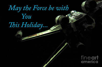 Jet Star Photograph - Star Wars Birthday Card 6 by Micah May