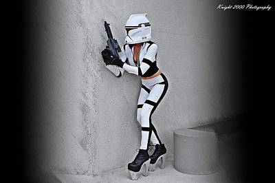Science Fiction Photograph - Star Wars By Knight 2000 Photography - Armor by Laura Michelle Corbin