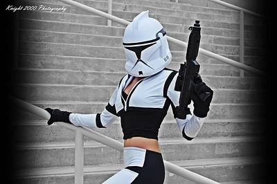 Science Fiction Photograph - Star Wars By Knight 2000 Photography - Hello Guns by Laura Michelle Corbin