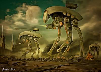Solo Painting - Star Wars Cockroaches Armour by Leonardo Digenio