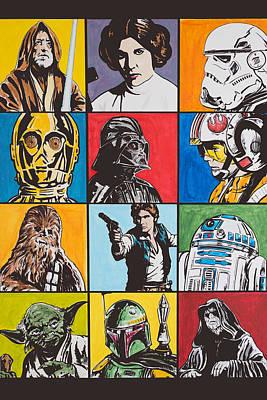 Star Wars Hero's And Villain's Original