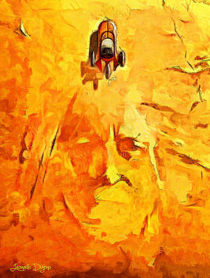 Star Wars Tatooine - Da Art Print
