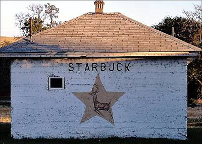 Starbuck Washington Art Print