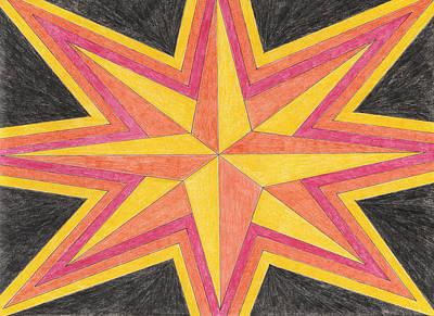 Starburst 2 Art Print by Eric Forster