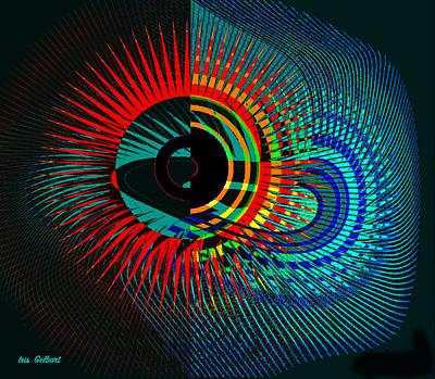 Digital Art - Starburst 2 by Iris Gelbart