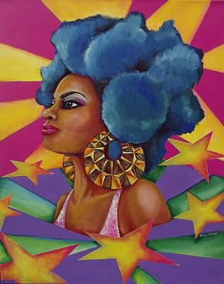 Starburst Art Print by Kimberly Lewis