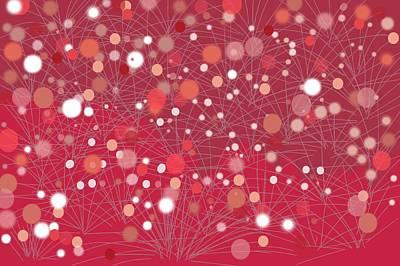 Expressionism Digital Art Drawing - Starburst by Shanhan Truitt-Roos