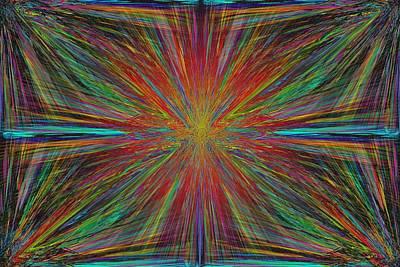 Starburst Art Print by Tim Allen